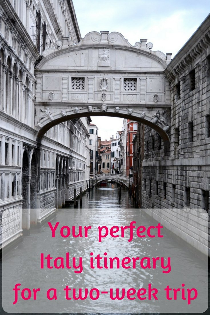 A perfect two-week Italy itinerary