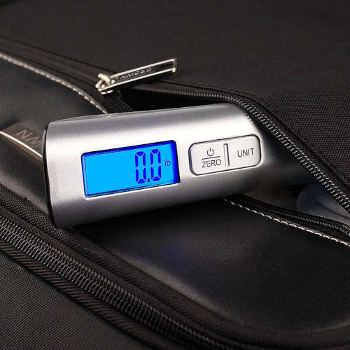 Luggage scale display