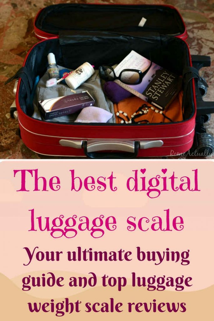 Best digital luggage scale