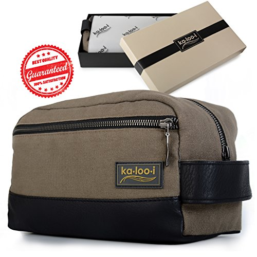 If You Are Looking For Shaving Bags Men Or The Best S Toiletry Weekend Trips We Recommend This Vegan Leather Bag