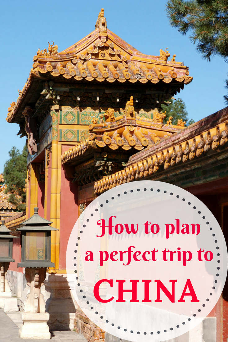 How to plan a trip to China