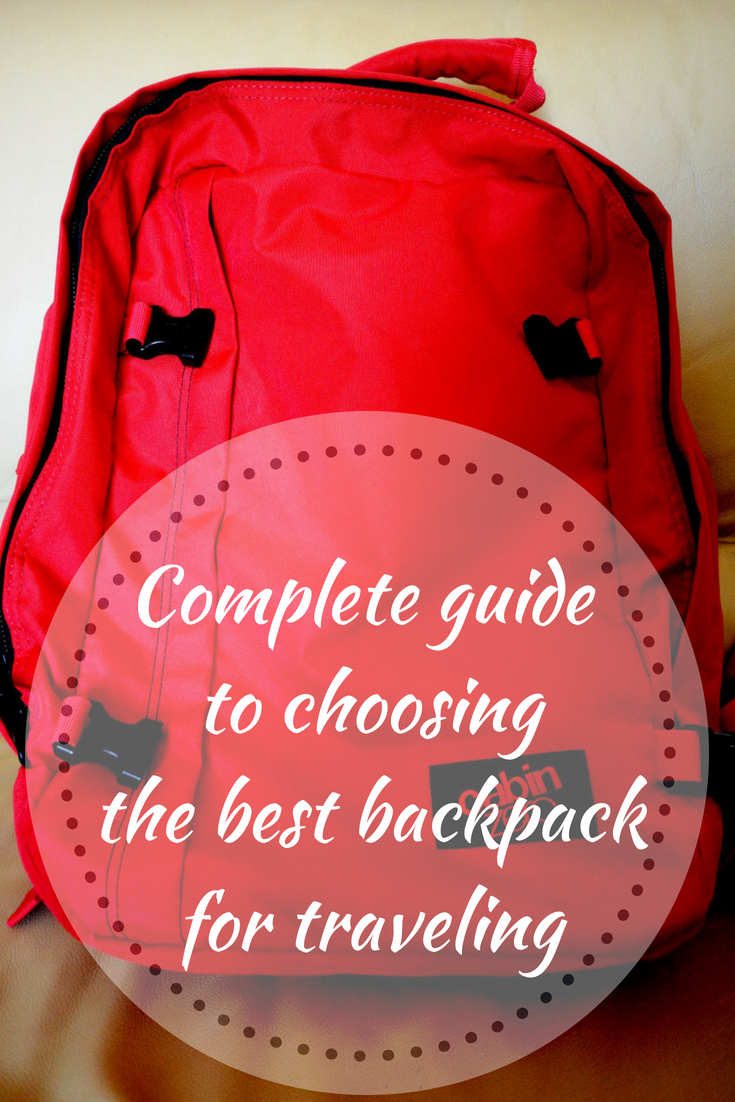 Guide to choosing the best backpack for traveling