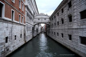 Bridge of Sighs in the best Venice tours