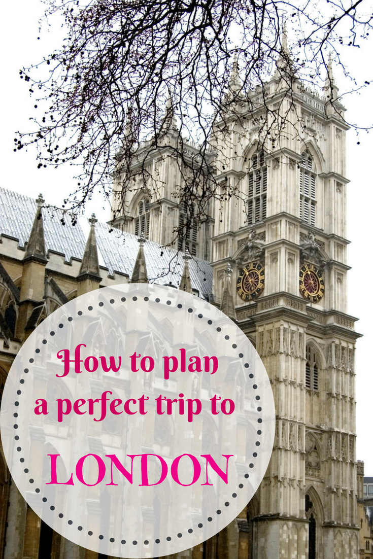 How to plan a trip to London, UK