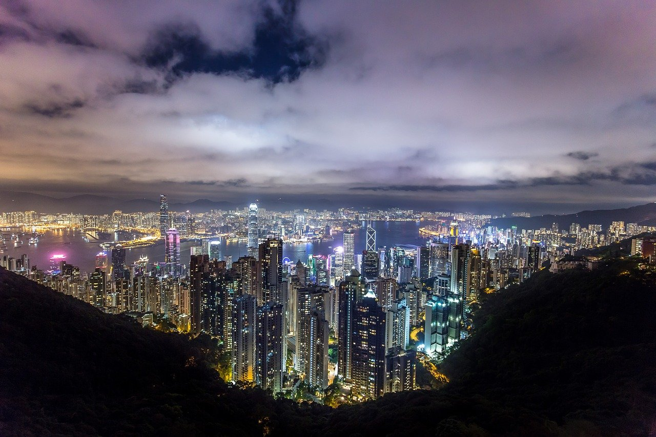 How to plan a trip to Hong Kong, beautiful night view