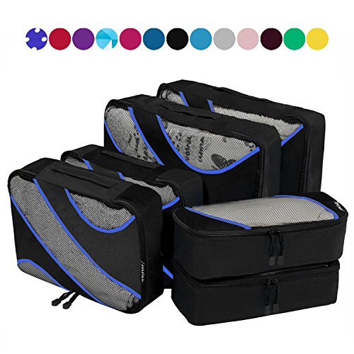 Packing Various Travel Luggage Organizers