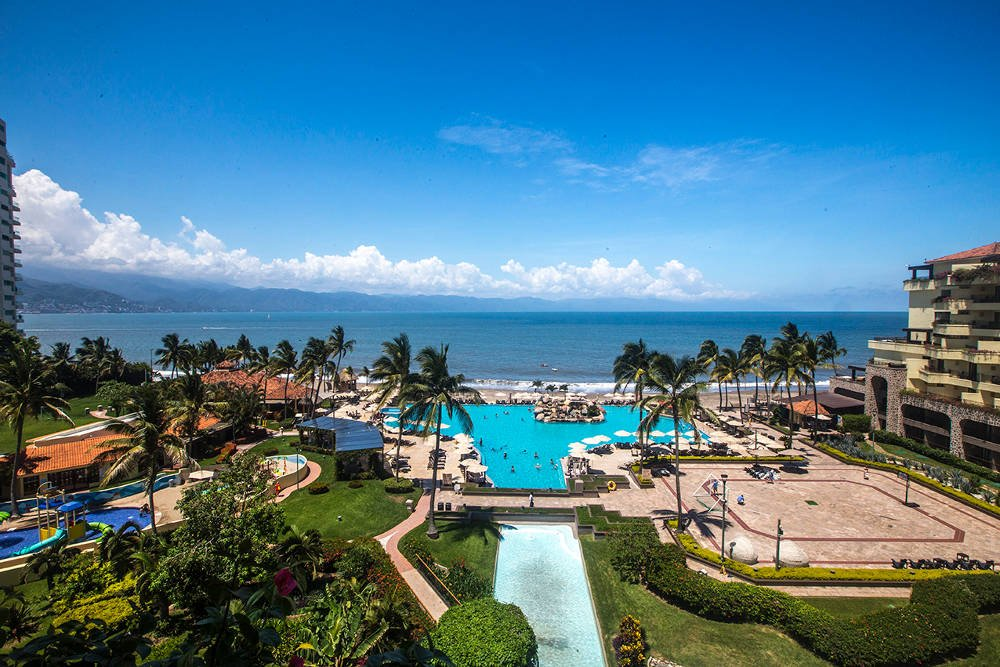 View from Hotel Marriott, one of the best hotels in Puerto Vallarta.