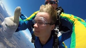 Sky diving is a great and adventurous outdoor activities to do in Sydney