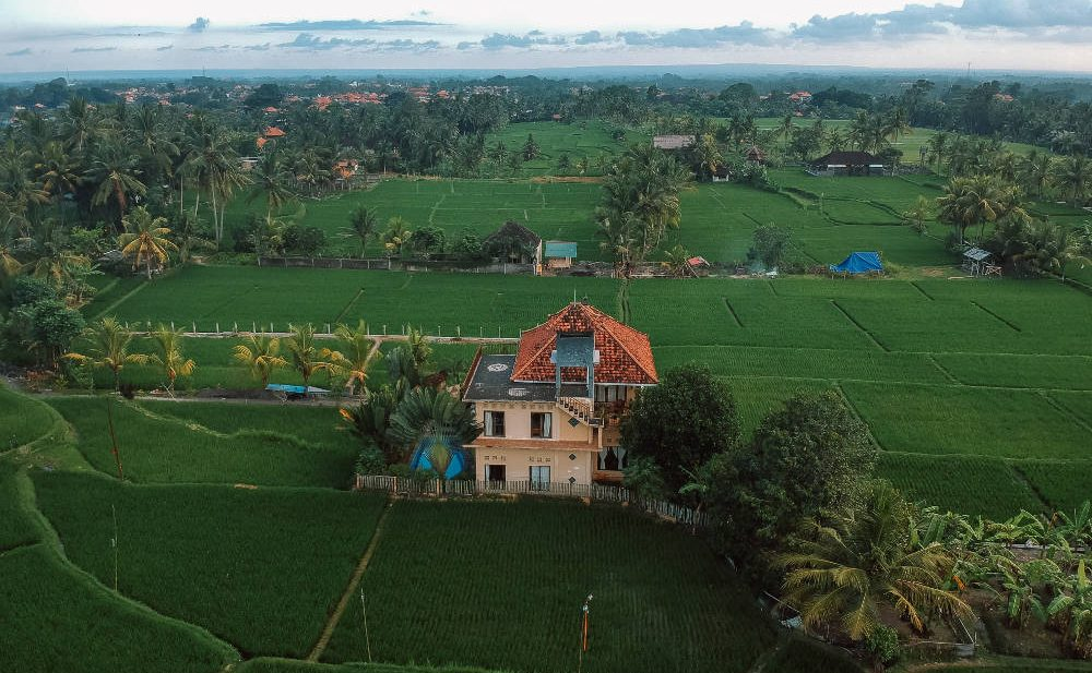 Ubud in Bali is one of the best places to visit in Indonesia.