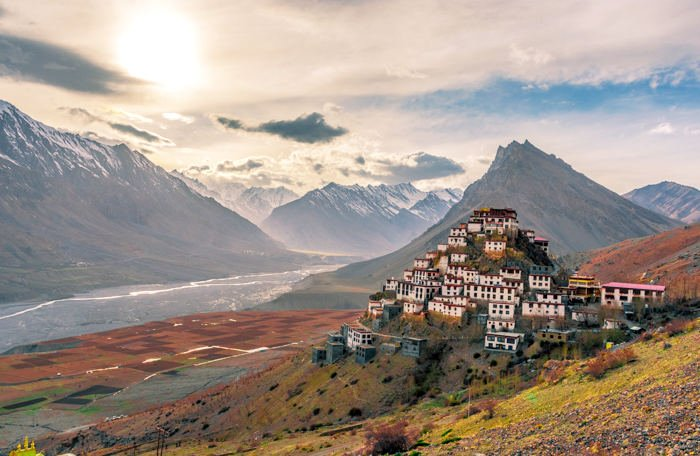 Kee Monastery among the best things to do in Spiti Valley.