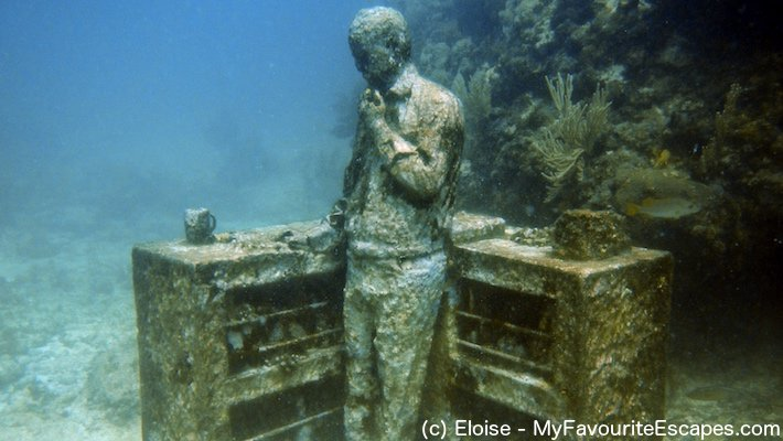 MUSA Cancun Underwater Museum, one of the top things to do in Cancun