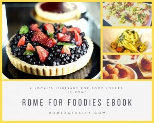 Rome for Foodies