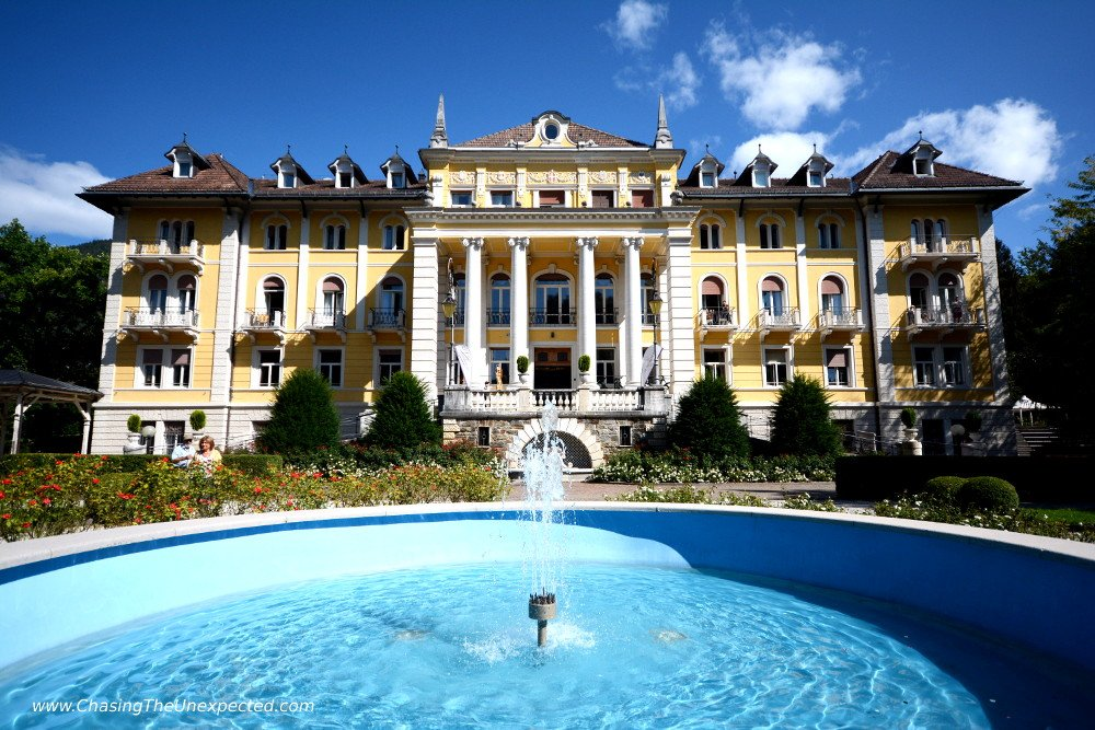 Parco delle Terme and Grand Hotel Imperial among the places to visit in Levico Terme, Trentino Alto Adige