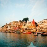 A view of the Ganges River