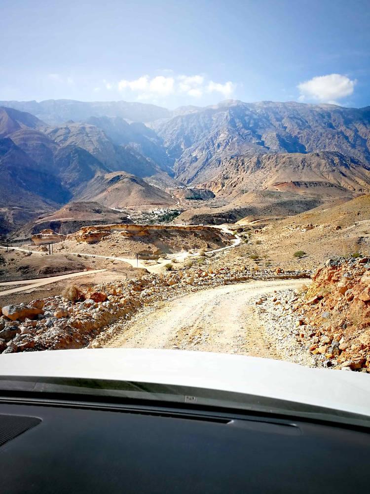 road trip muscat sur