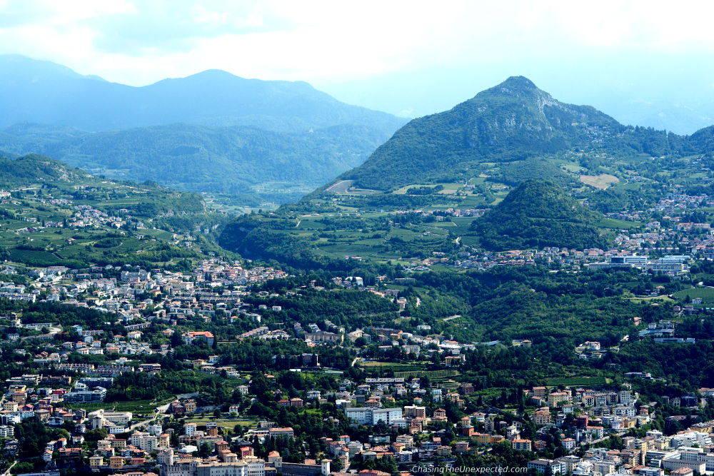 Cable car Trento Sardagna