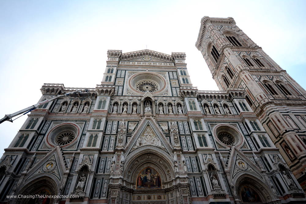 Florence cathedral facade