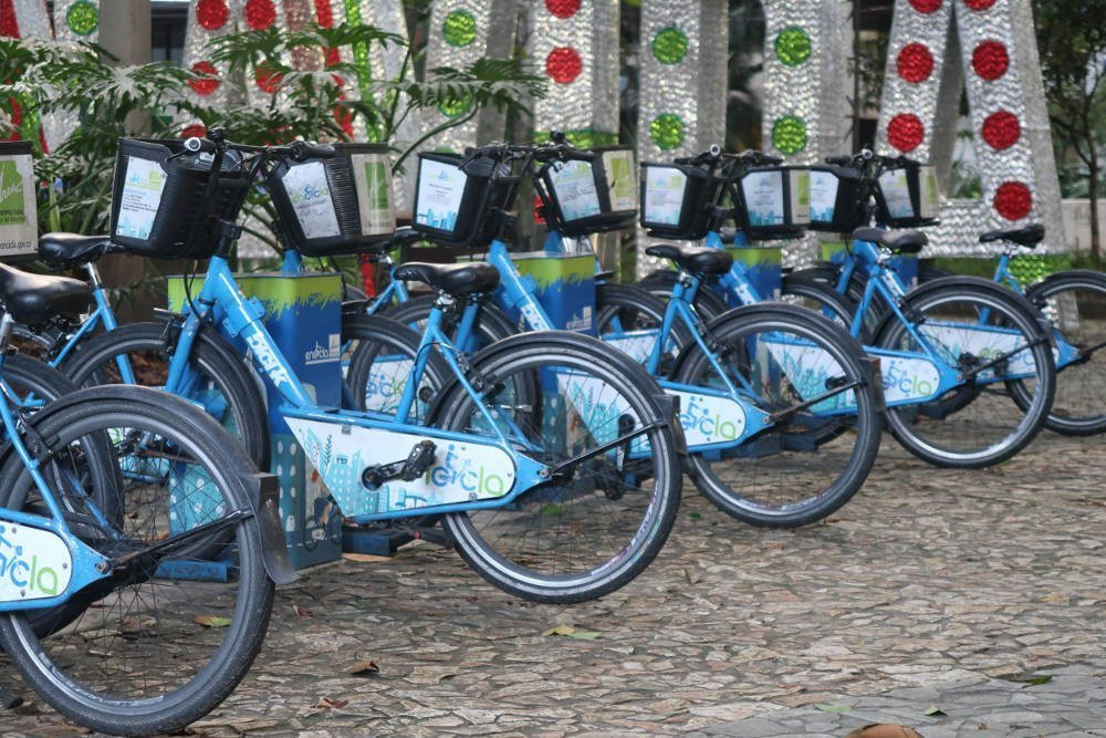 Bike renting in Medellin