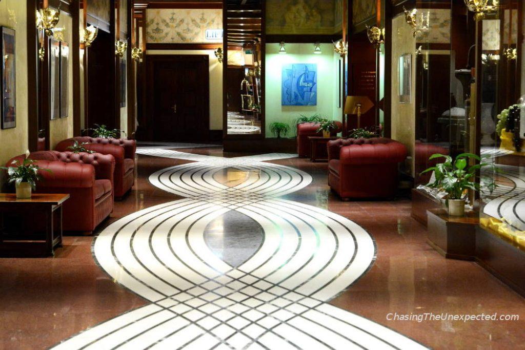 grand hotel trento hall