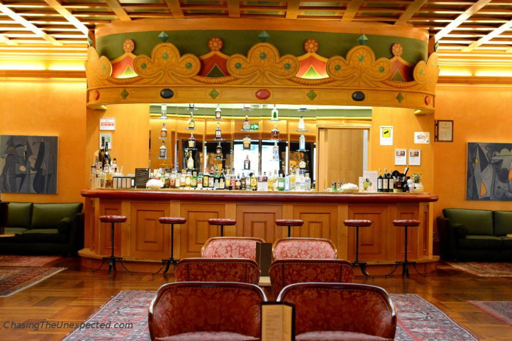Grand Hotel Trento bar