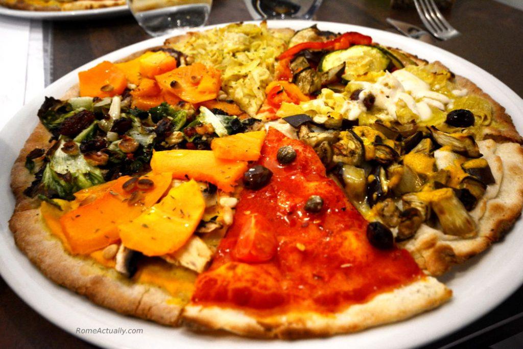 madre terra vegaan restaurant in rome