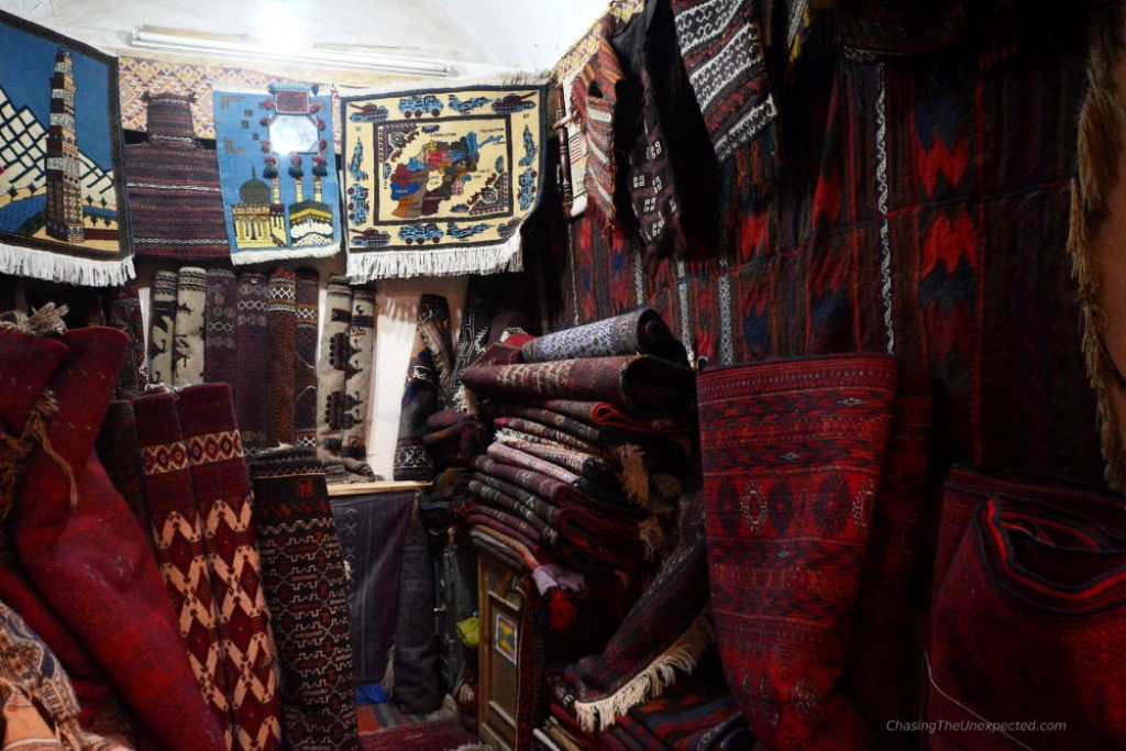 carpet shop herat bazaar