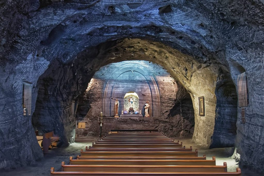 Zipaquirá salt cathedral colombia best places to visit