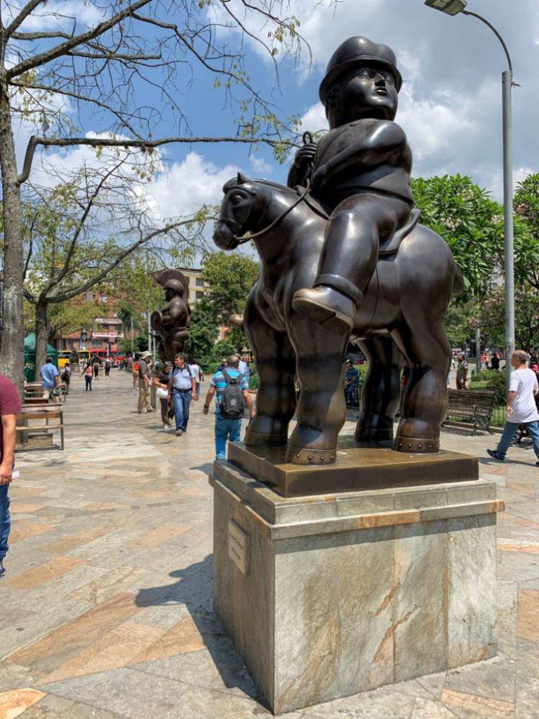 botero sculpture medellin colombia