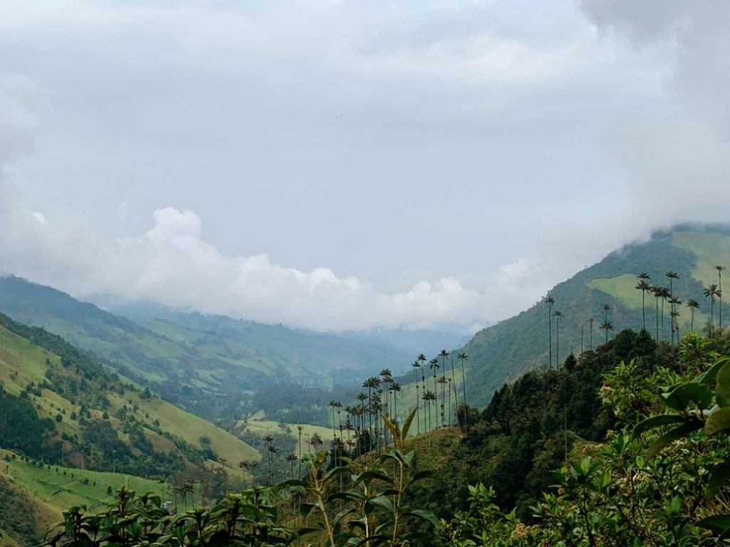 valle corcora hiking colombia