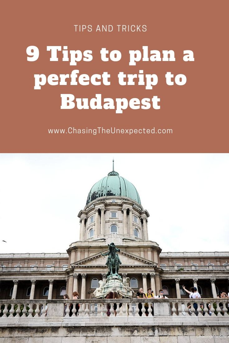 how to plan a trip to budapest