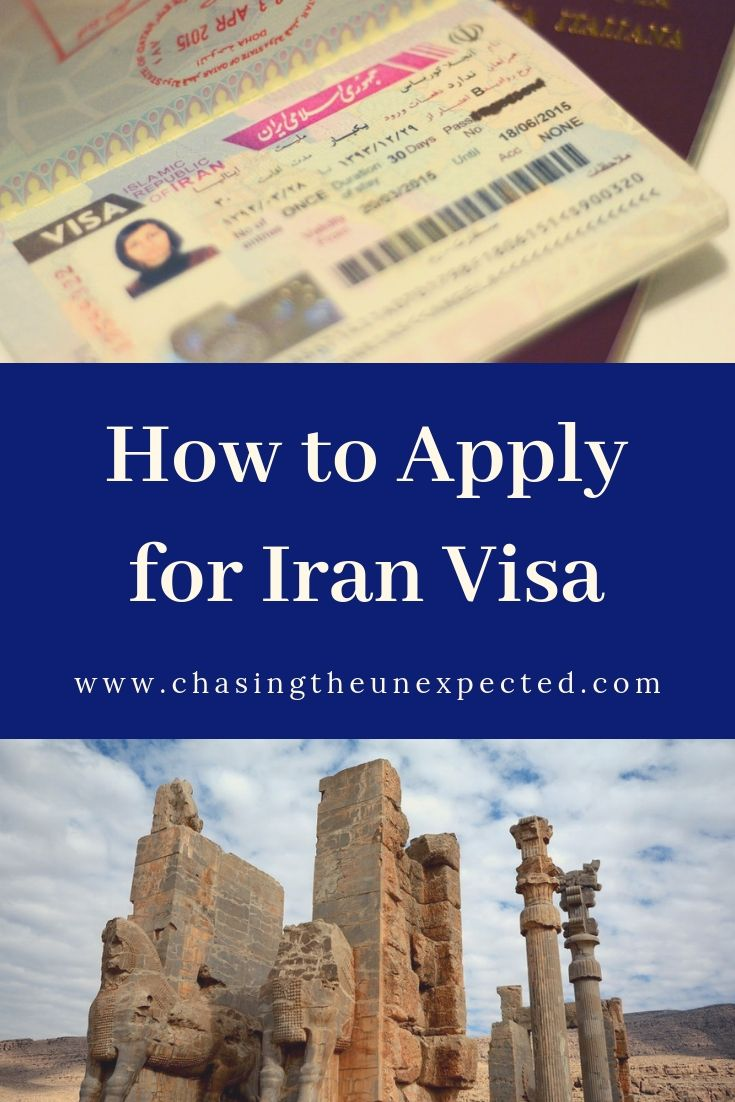 how to apply for iran visa