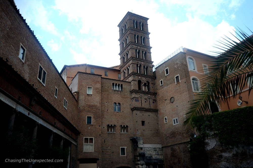 Santi Giovanni and Paolo basilica rome underground