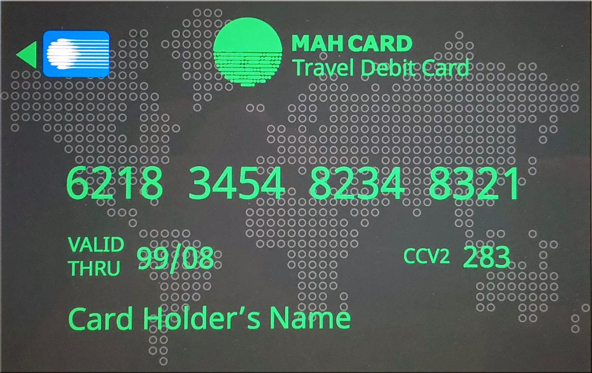 mah card iran debit card