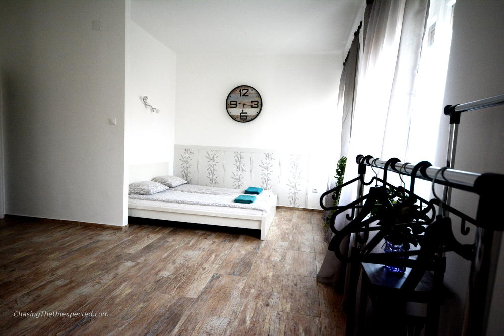 bedroom apartment in budapest