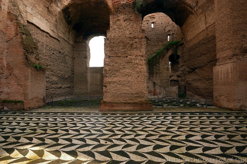caracalla baths places to visit in rome