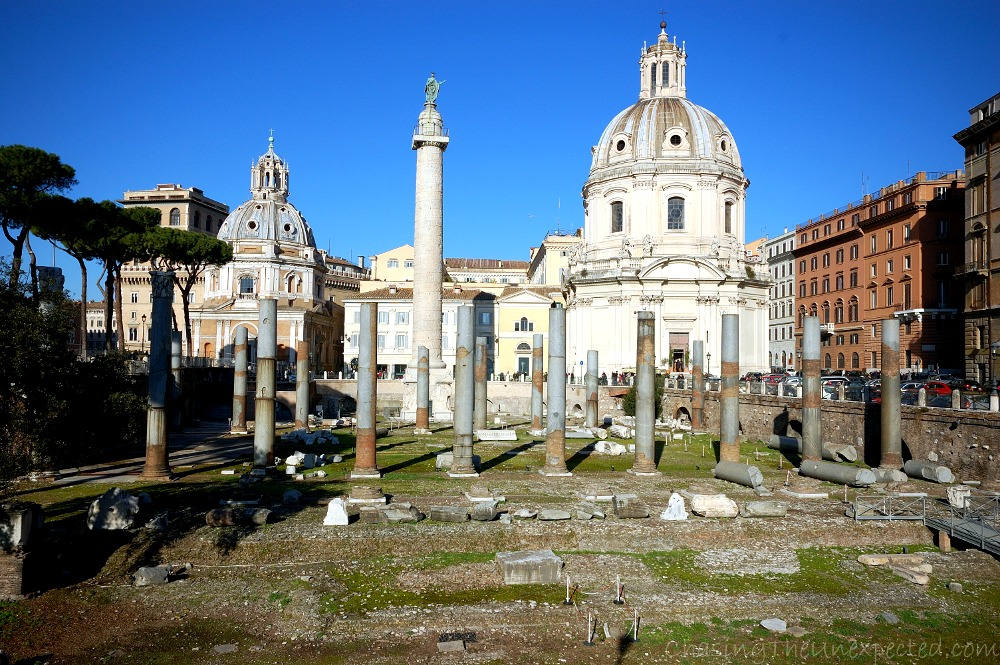 fori imperial rome tourist attractions