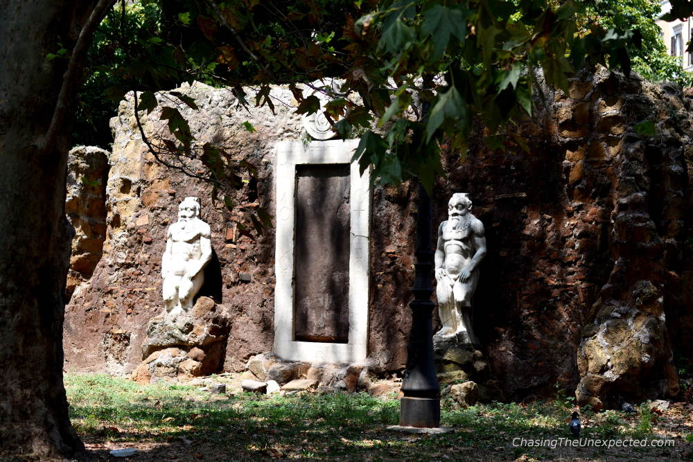 porta magica unusual things to do in rome