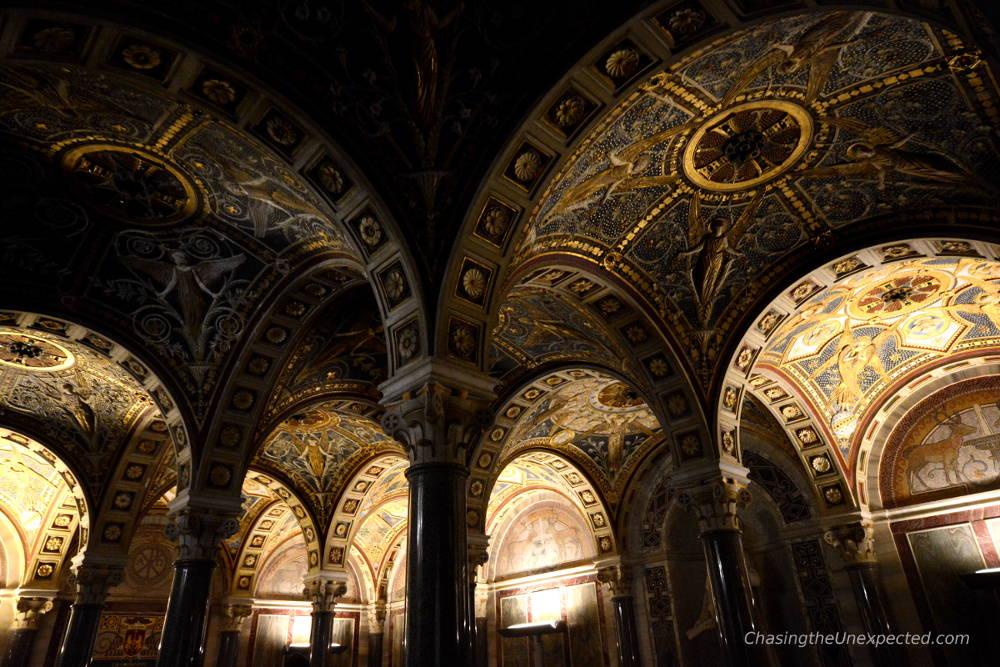 crypt Santa Cecilia in Trastevere Basilica rome underground