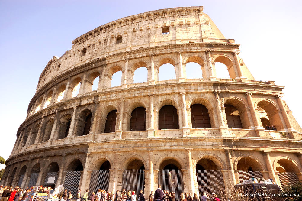 Image: Colosseum in Rome on a Europe private tour