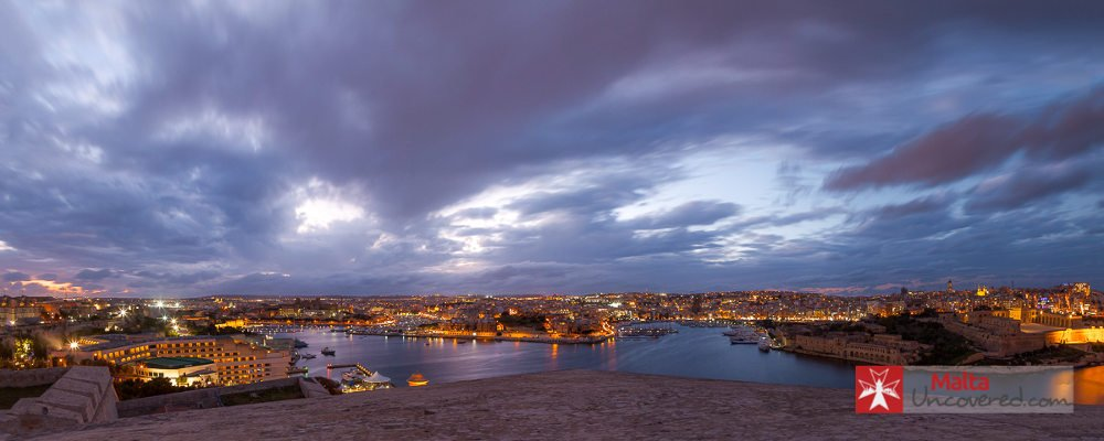 3-day malta itinerary view