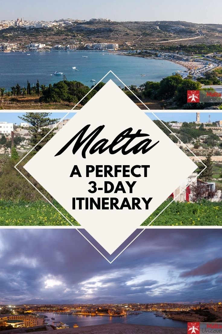 three-day malta itinerary