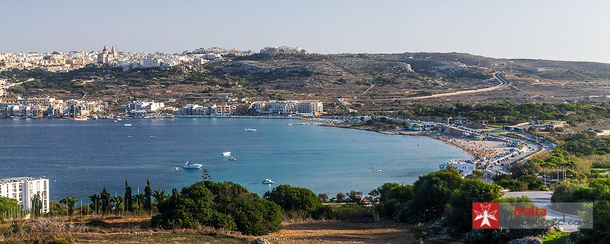 mellieha bay 3-day malta itinerary