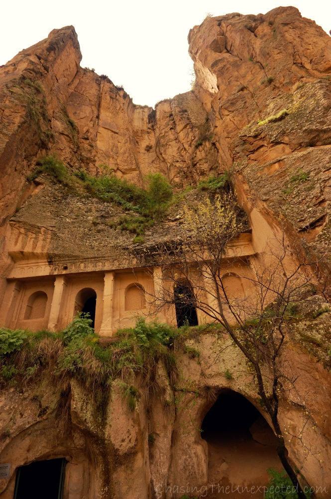 Jacinth monastery inside Ihlara Valley