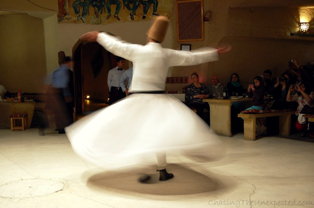 whirling dervishes things to see in cappadocia