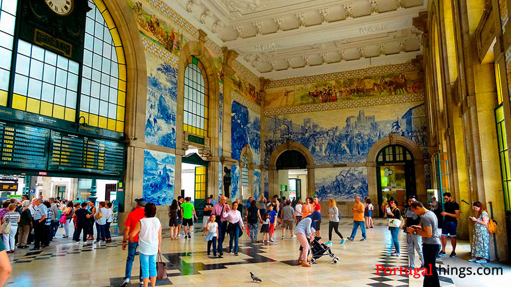 Image: S. Bento Train Station in Porto