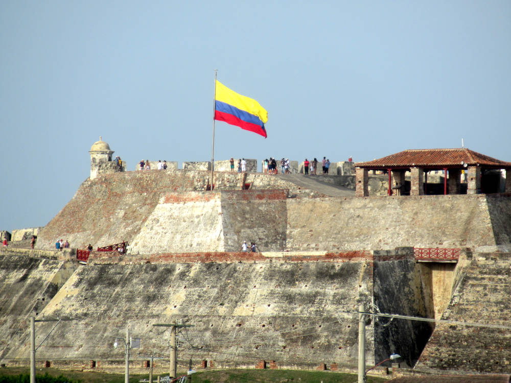 Image: Castillo San Felipe in 3 days in Cartagena, Colombia