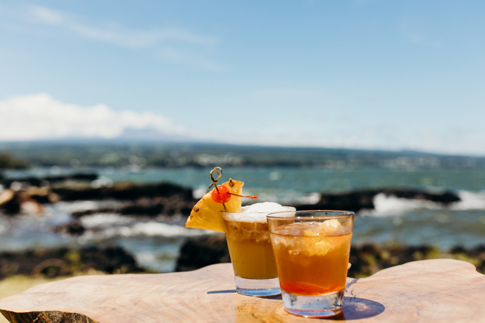 Image: Cocktails in Hilo, Hawaii
