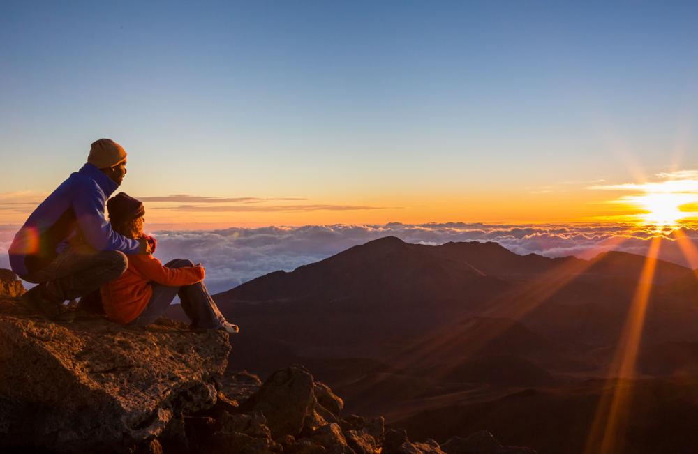 Image: Sunrise at Haleakala