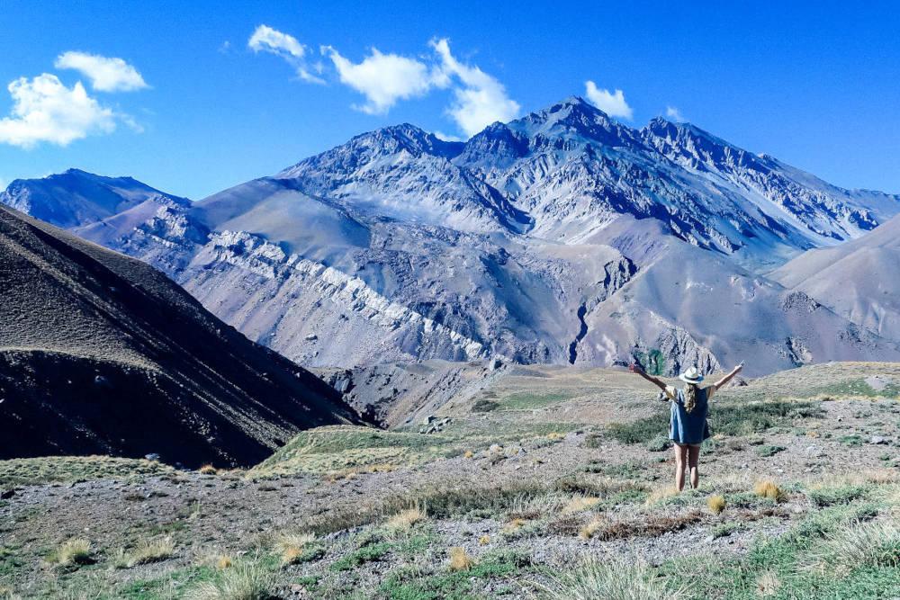 Image: Trek at base camp in Mendoza in 3 days