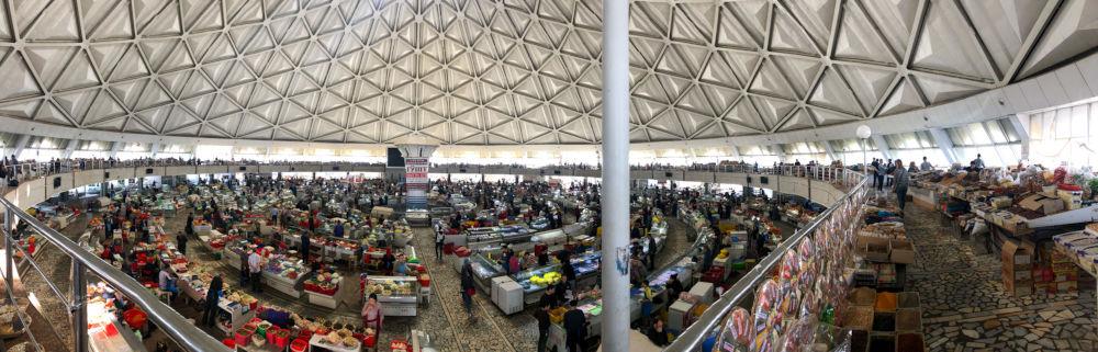 Image: Chorsu bazar in Tashkent